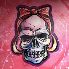 Skulls Pinup