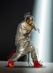 Kanye Red October Nike Yeezy 2