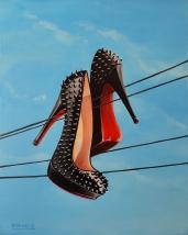 Christian Louboutin Spike Heels