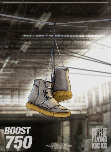 Yeezy boost boots