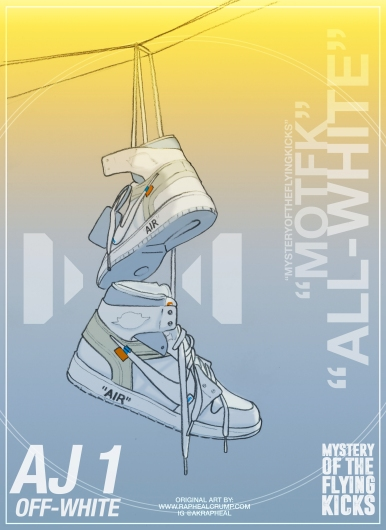 AJ 1 offwhite