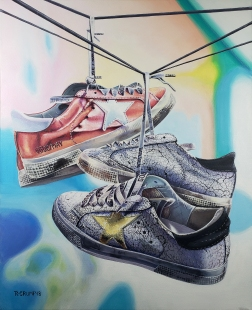 Golden Goose 24x30""