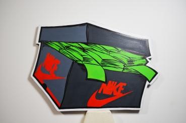 Classic Nike Jordan box Grey
