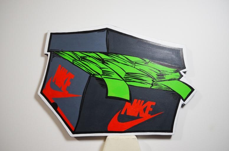 Nike Air Jordan 1 SnkrMoney Box